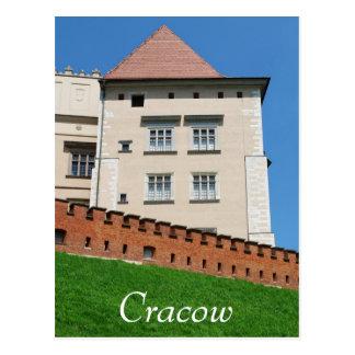 Castillo de Wawel Royan en Cracovia Tarjeta Postal