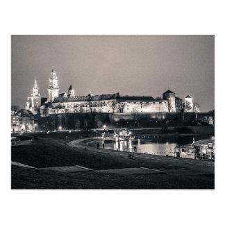 Castillo de Wawel Tarjeta Postal