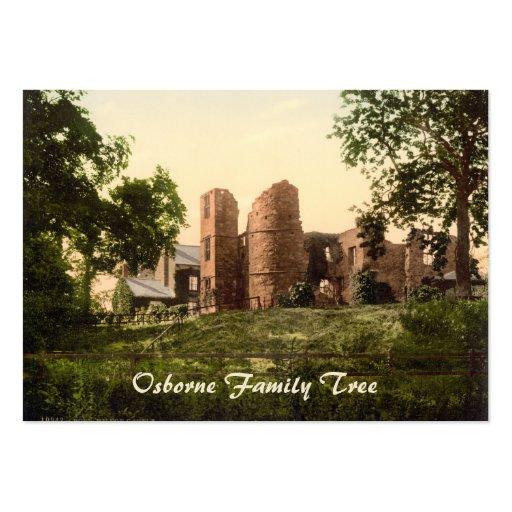 Castillo de Wilton, Ross-en-Horqueta, Herefordshir Tarjeta De Negocio