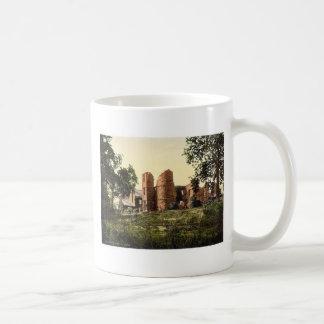 Castillo de Wilton, Ross-en-Horqueta, Inglaterra P Taza Básica Blanca