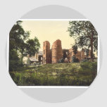 Castillo de Wilton, Ross-en-Horqueta, Inglaterra Etiquetas Redondas