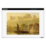 Castillo de Windsor del Thames (aceite en cartón p Skins Para Portátil