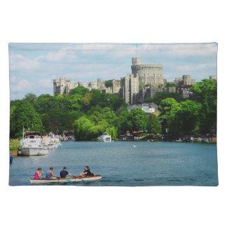 Castillo de Windsor del Thames Manteles