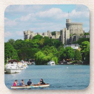 Castillo de Windsor del Thames Posavasos De Bebida
