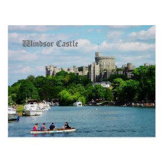 Castillo de Windsor del Thames Postal