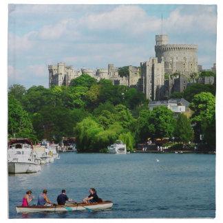 Castillo de Windsor del Thames Servilletas De Papel