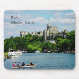 Castillo de Windsor del Thames Tapete De Ratones