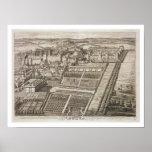 Castillo de Windsor, grabado por Juan Kip (c.1652- Impresiones