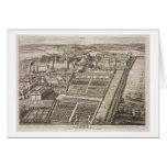 Castillo de Windsor, grabado por Juan Kip (c.1652- Tarjeta De Felicitación