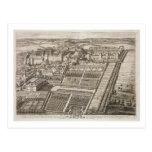 Castillo de Windsor, grabado por Juan Kip Tarjetas Postales