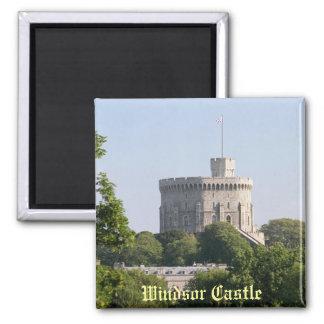 Castillo de Windsor Imán Cuadrado