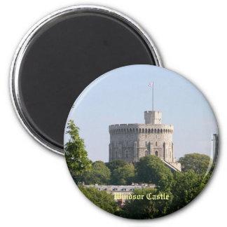 Castillo de Windsor Imán Redondo 5 Cm
