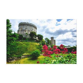 Castillo de Windsor Lona Envuelta Para Galerías