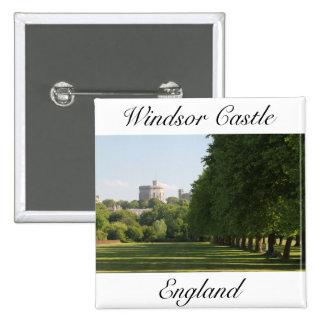 Castillo de Windsor Pin Cuadrada 5 Cm