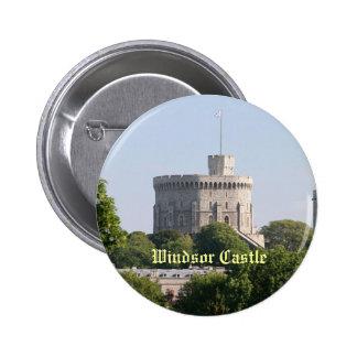 Castillo de Windsor Pin Redondo 5 Cm