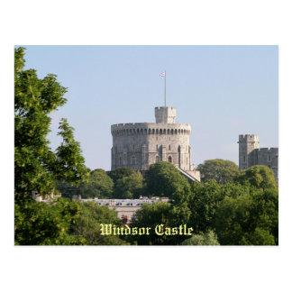 Castillo de Windsor Tarjeta Postal