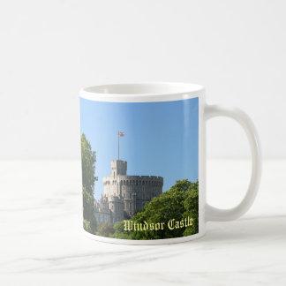Castillo de Windsor Taza Básica Blanca
