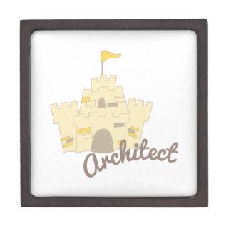 Castillo del arquitecto caja de regalo de calidad