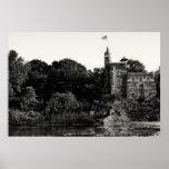 Castillo del belvedere, Central Park NYC Póster