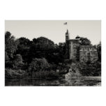 Castillo del belvedere, Central Park NYC Posters