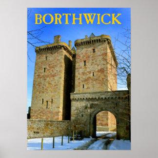 castillo del borthwick poster