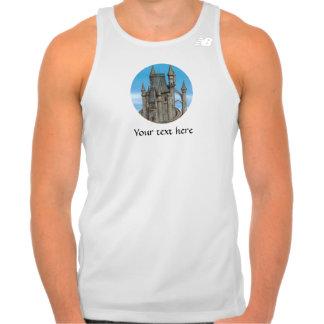 Castillo del cuento de hadas tshirts