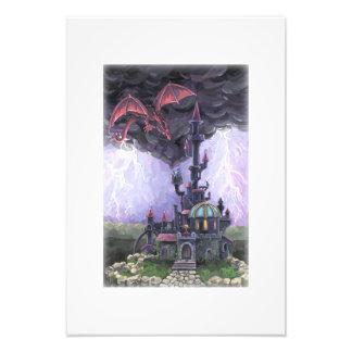 Castillo del dragón arte fotografico