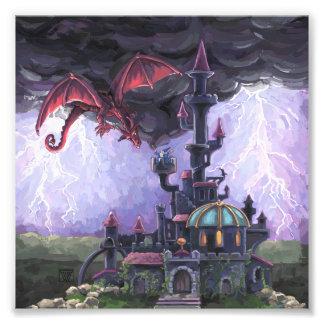 Castillo del dragón fotografias