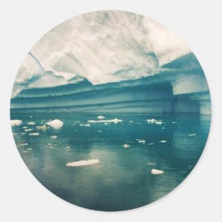 Castillo del hielo pegatina