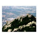 Castillo del Moorish - Sintra Tarjetas Postales