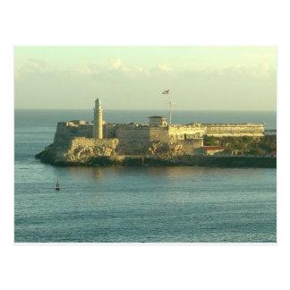 Castillo del Morro La Habana Cuba Postcard