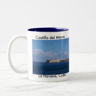 Castillo del Morro La Habana Cuba Two-Tone Coffee Mug