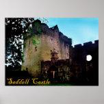 castillo del saddell póster