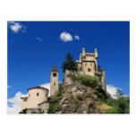 Castillo del Saint Pierre, Italia Tarjetas Postales