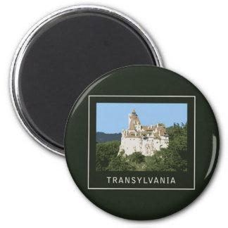 Castillo del salvado de Transilvania Iman De Frigorífico