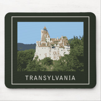 Castillo del salvado de Transilvania Mousepad