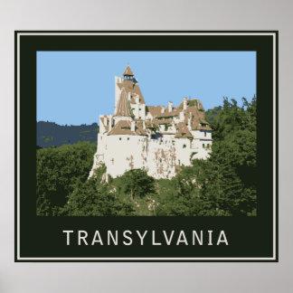 Castillo del salvado de Transilvania Póster