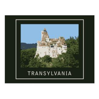 Castillo del salvado de Transilvania Tarjetas Postales