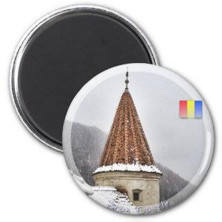 Castillo del salvado imán redondo 5 cm