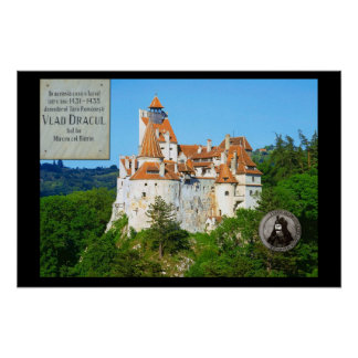 Castillo del salvado, Transylvannia Póster