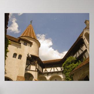 Castillo del siglo XIII del salvado (el castillo d Póster