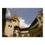 Castillo del siglo XIII del salvado (el castillo d Tarjeta De Felicitación