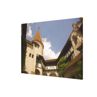 Castillo del siglo XIII del salvado (el castillo Impresión En Lienzo