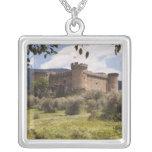 Castillo del siglo XV del duque Of Alburquerque Colgante Cuadrado