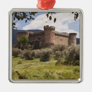 Castillo del siglo XV del duque Of Alburquerque Ornamento De Navidad