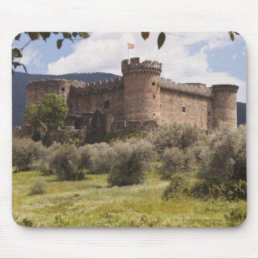Castillo del siglo XV del duque Of Alburquerque Tapete De Ratones