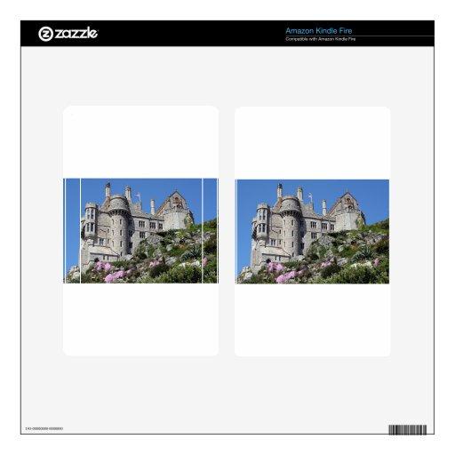 Castillo del soporte de San Miguel, Inglaterra, Re Kindle Fire Skins