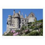 Castillo del soporte de San Miguel, Inglaterra, Re Postales