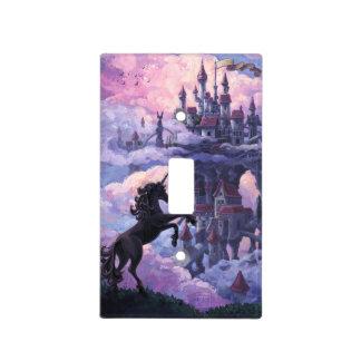 Castillo del unicornio cubiertas para interruptor