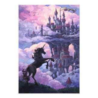 Castillo del unicornio fotografia